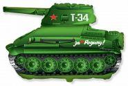 """Танк Т-34, 31""""/ 64*79 см"""