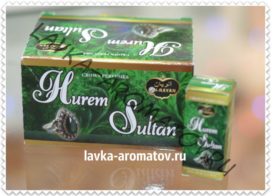 Миск HUREM SULTAN 3 мл упаковка 12 шт (55 руб/шт)