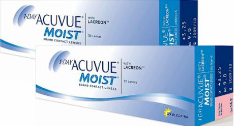 1-Day Acuvue Moist 30 pk ( 2 упаковки)