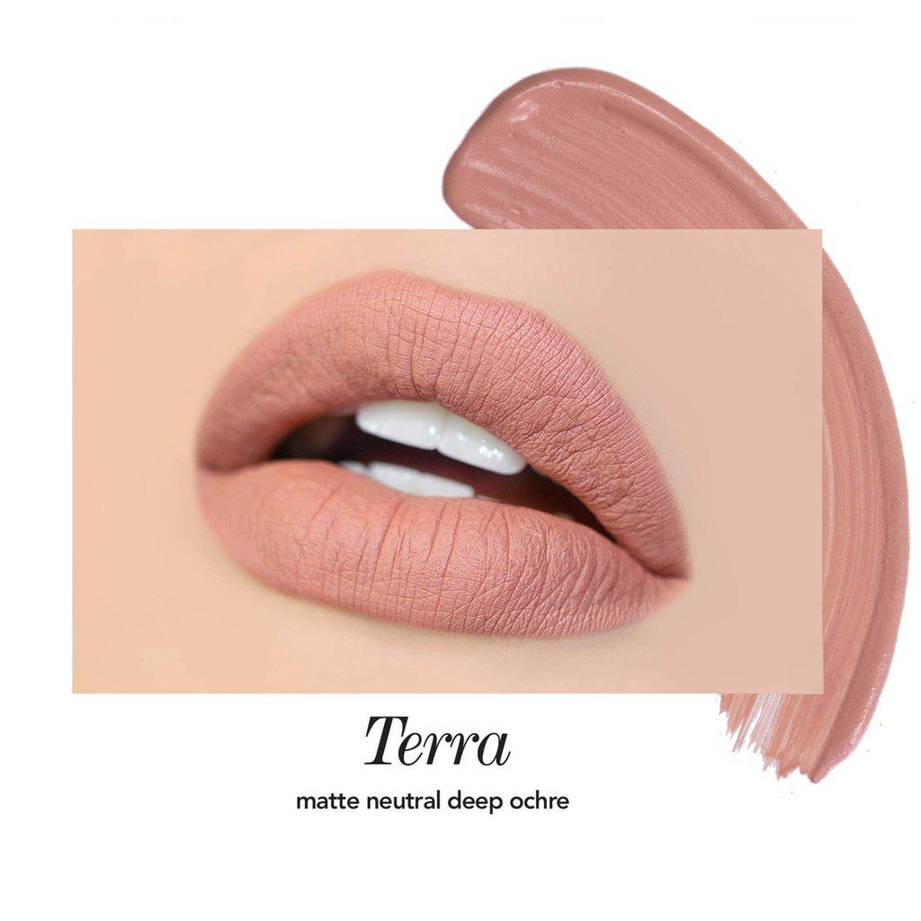 Матовая помада Jouer Cosmetics - TERRA