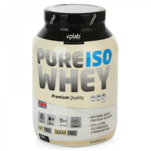 Pure Iso Whey, 908 гр, VPlab