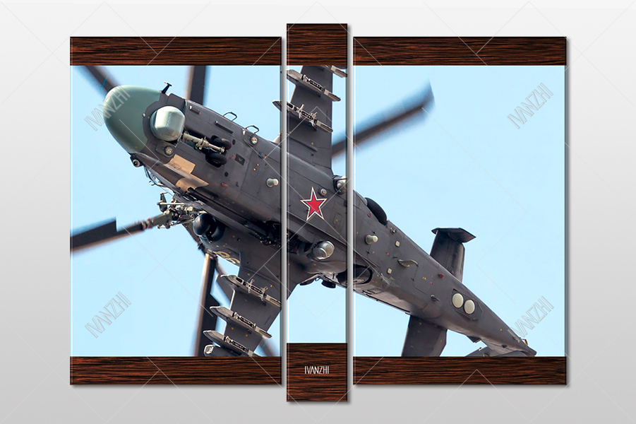 Вертолёт Ка-52 Аллигатор