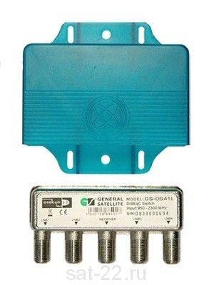 DiSEqC-переключатель General Satellite GS-DS41L (4x1)