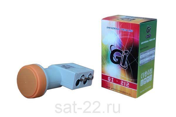 Спутниковый конвертер Universal Twin GI 212