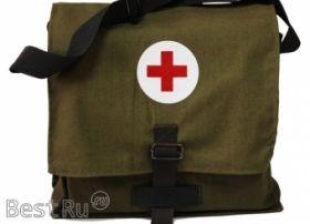 Сумка санитарная для оказания 1-ой помощи подразделениям сил ГО (приказ 61-Н от 08.02.2013)