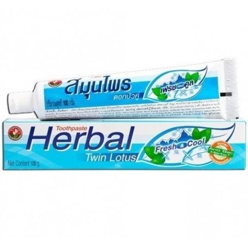 Зубная паста Twin Lotus Herbal Fresh Cool 100г