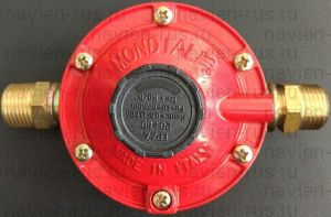 Газовый редуктор MONDIAL с правыми резьбами