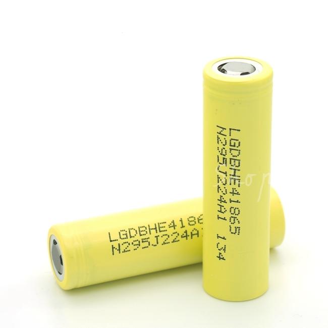 Аккумулятор к модам и варивольтам LG HE4 18650 (2500mAh, 35А) - высокотоковый