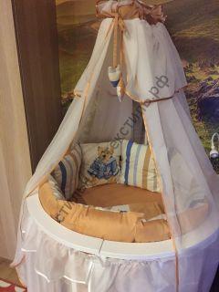 Комплект детского постельного белья в кроватку-трансформер