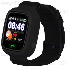 Детские часы Smart Baby Watch Q80 Black