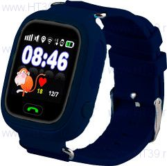 Детские часы Smart Baby Watch Q80 NavyBlue