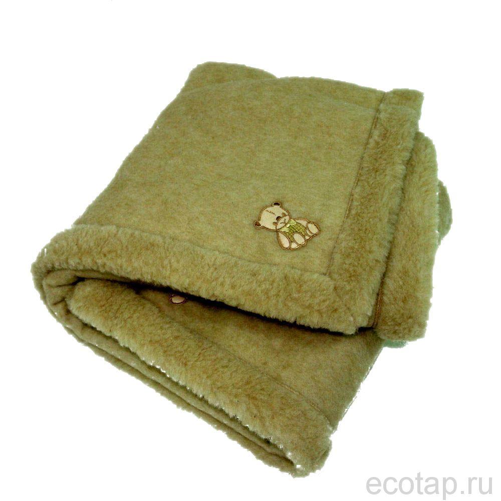 Одеяло из верблюжьей шерсти 110х140