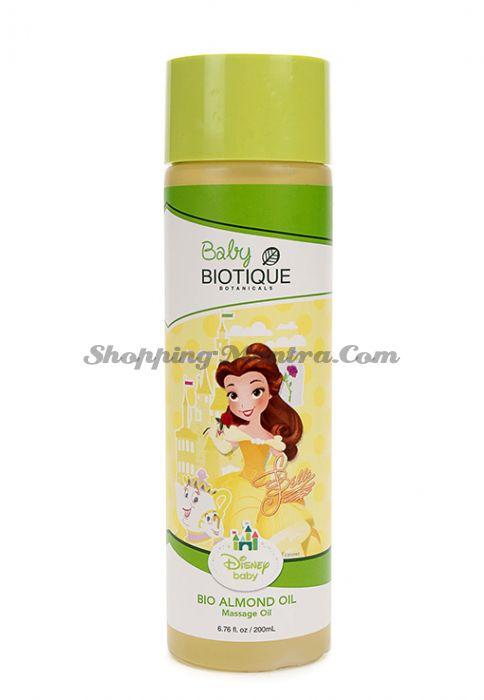 Биотик Дисней Принцесса Белль миндальное массажное масло для детей   Biotique Disney Princess Belle Bio Almond Massage Oil