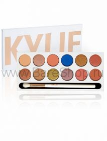 KYSHADOW THE ROYAL PEACH PALETTE KYLIE 12 оттенков
