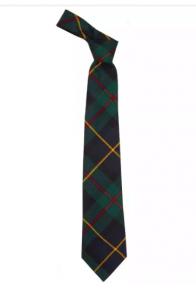 Истинно шотландский клетчатый галстук 100% шерсть , расцветка клан Маклауд MacLeod of Harris Modern