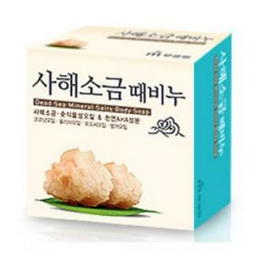 Mukunghwa Dead Sea Mineral Salts Body Soap 85g - Натуральное мыло, обогащенное минералами Мертвого моря