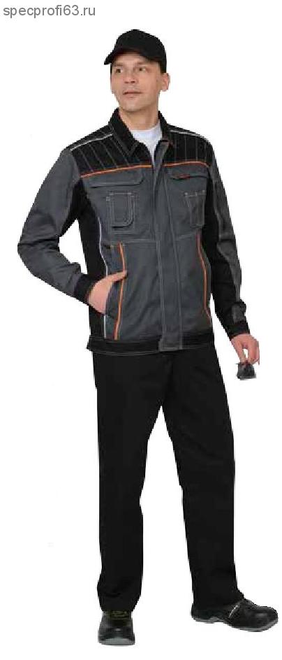 "Костюм ""Престиж"" : куртка,п/к, цв. серый"