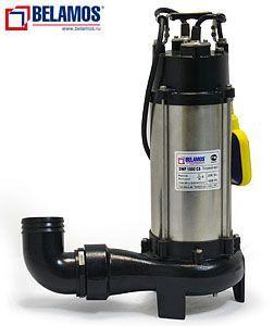 Фекальный насос с измельчителем Belamos  DWP 1300 CS  (с режущим механизмом)