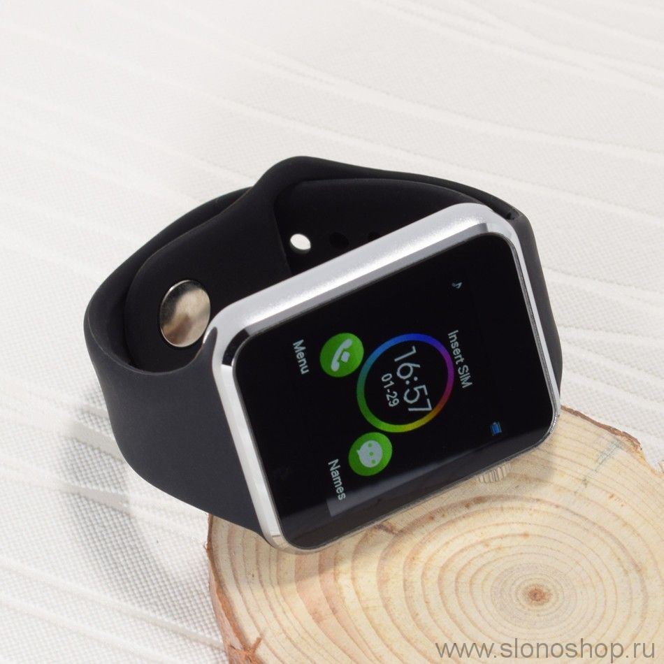 Смарт часы для android T2 Q88 (A1) Smart Watch сенсорный экран водонепроницаемые