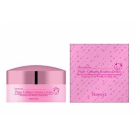 Deoproce Piggy Collagen Bounce Cream 100g - Крем для лица основе свиного гидролизованного коллагена и EGF