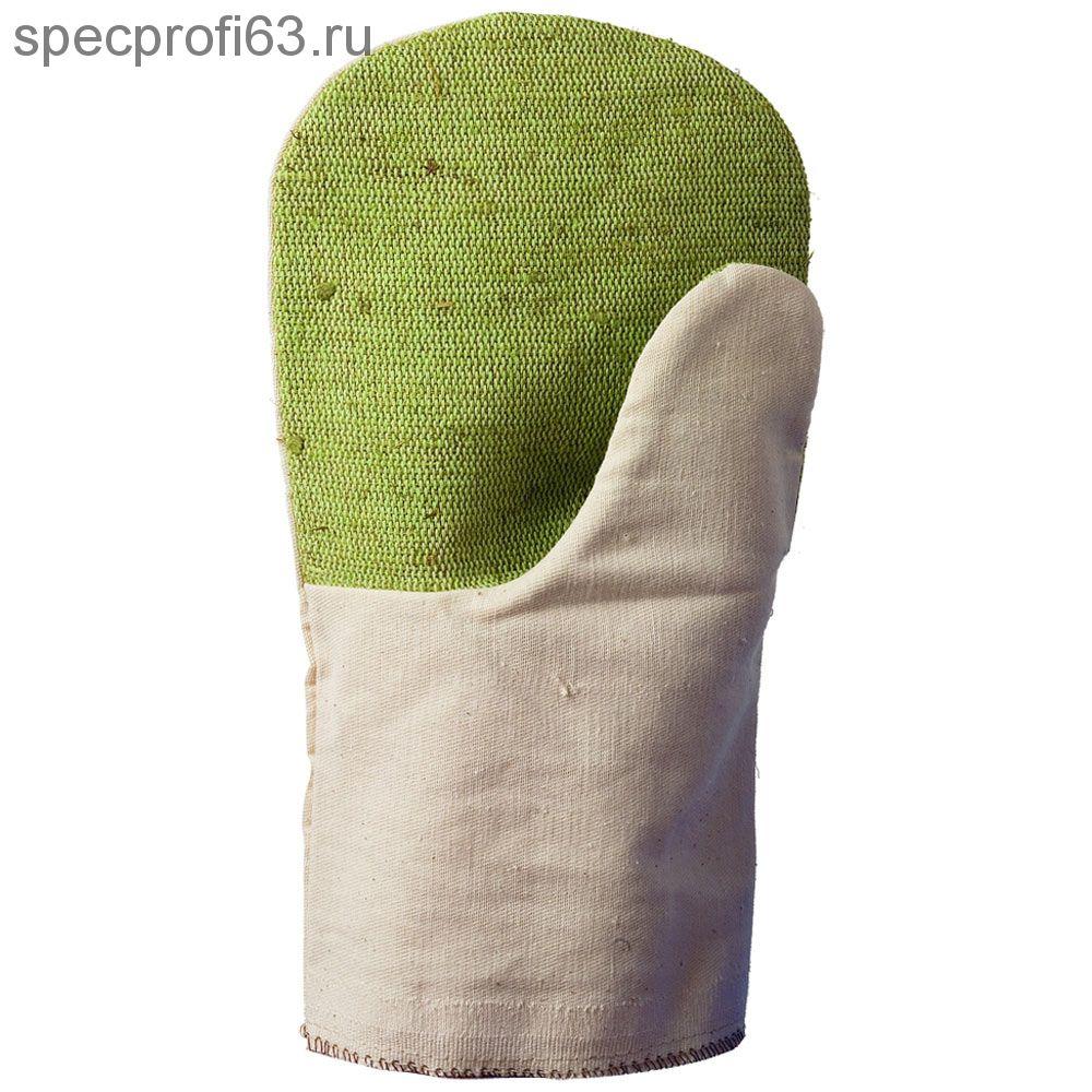 БН-03 Рукавицы х/б пл.220 аппрет. с брез. налад.без п/н