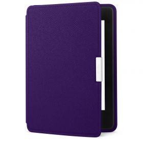 Кожаная обложка для Kindle Paperwhite оригинальная фиолетовая (Royal Purple)