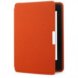 Кожаная обложка для Kindle Paperwhite оригинальная оранжевая (Persimmon)