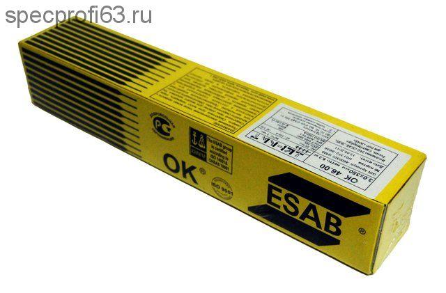 Электроды esab ok 46.00 d-3мм (5кг)