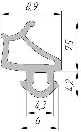 Аналог VEKA 254 T