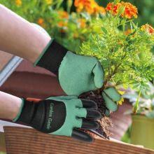 Садовые перчатки-грабли Garden Genie Gloves 2 в 1!!! АКЦИЯ 1+1=3!!!!