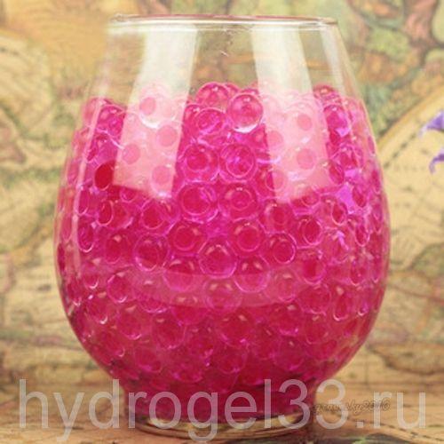 Шарики орбизы 1 см розовые (2000 шт)