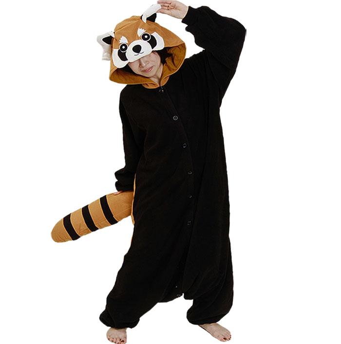 Пижама Кигуруми Красная Панда Премиум