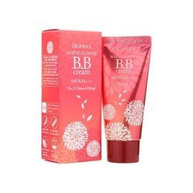 Deoproce White Flower BB Cream SPF35 PA+++ 30ml - ББ крем на основе экстракта белых цветков