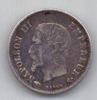 20 сантим 1859 г. Франция