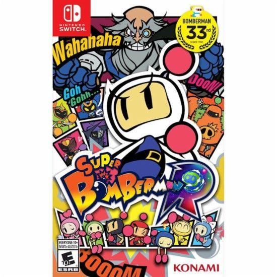 Игра Super Bomberman (nintendo switch)