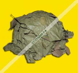 ШЛЕМ СТАЛЬНОЙ каска с масксетью (общий вид)