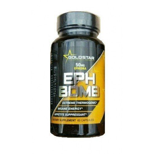 Жиросжигатель Eph Bomb 60 капсул (Goldstar)