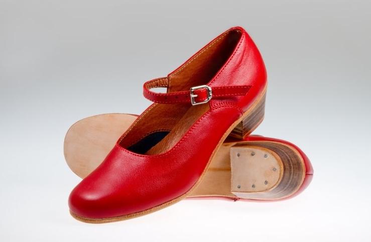 Туфли Танцевальные из натуральной кожи