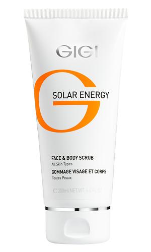 Минеральный скраб для лица и тела SOLAR ENERGY Face & Body Scrub