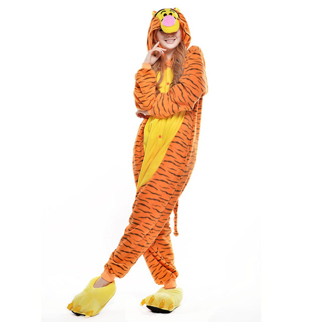 Пижама кигуруми Тигра Премиум