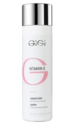 Жидкое крем-мыло для сухой и обезвоженной кожи VITAMIN E Cream Soap