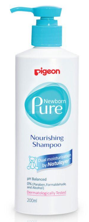 "Pigeon Питательный шампунь ""Newborn Pure Nourishing Shampoo"" 0+ мес, 200 мл"