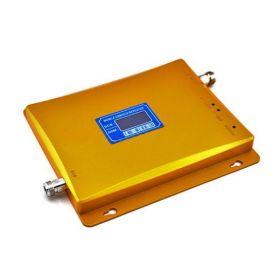 Двухдиапазонный усилитель 2G GSM / DCS (Репитер) сигнала Repeater (900MHz / 1800MHz) КОМПЛЕКТ С КАБЕЛЕМ И АНТЕННАМИ