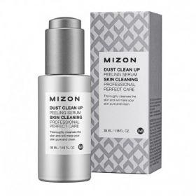 MIZON Dust Clean Up Peeling Serum 35ml - Очищающая пилинг-сыворотка