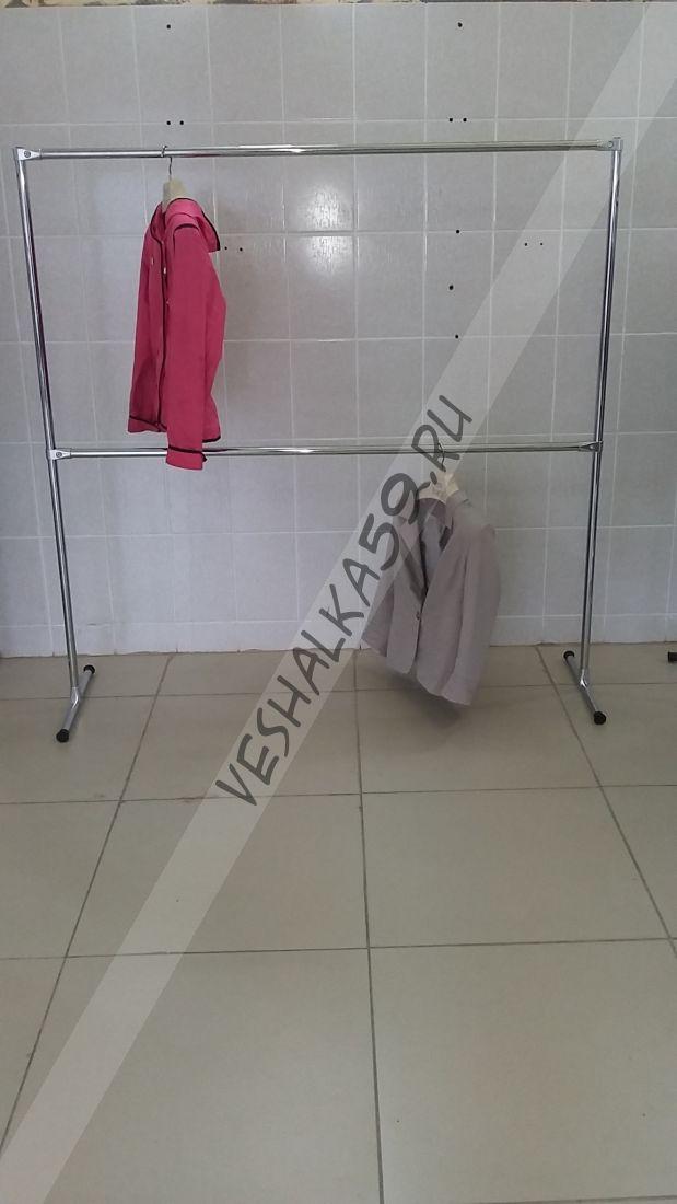 Вешалка напольная для одежды, модель 3