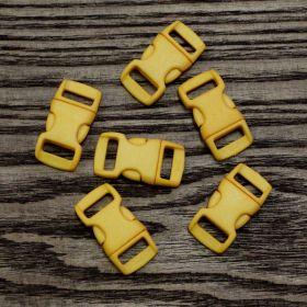 Фастекс для паракорда 10 мм (3/8) Желтый