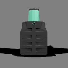 Септик-накопитель «Термит-2,5Н» 2,5 м3