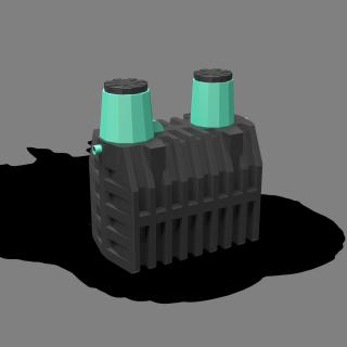 Локальная очистная установка «ТЕРМИТ-ПРОФИ-3Ф» 3,0 м3(рассчитан на 6-8 проживающих человек)