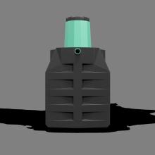 Септик-накопитель «Термит-3,5Н» 3.5 м3
