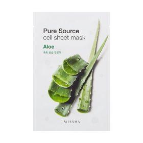 Missha Pure Source Cell Sheet Mask Aloe 21ml – Маска с алоэ